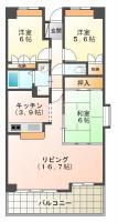サーパス東吉野 305間取り図