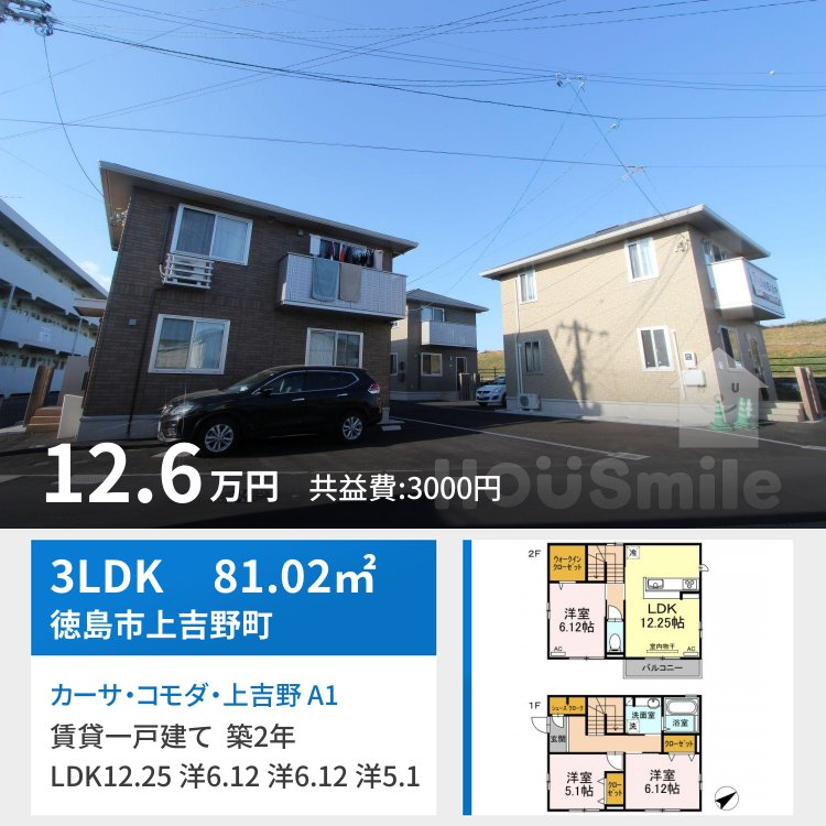 カーサ・コモダ・上吉野 A1