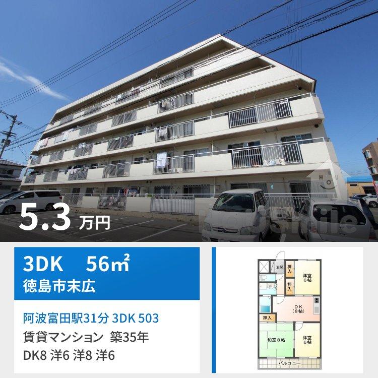 阿波富田駅31分 3DK 503