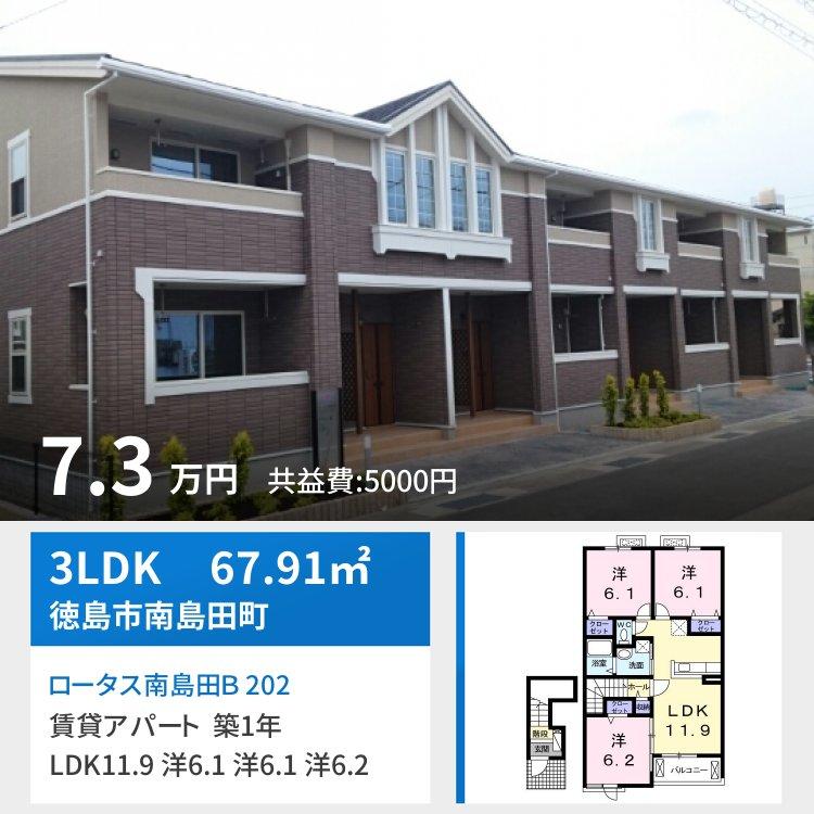 ロータス南島田B 202