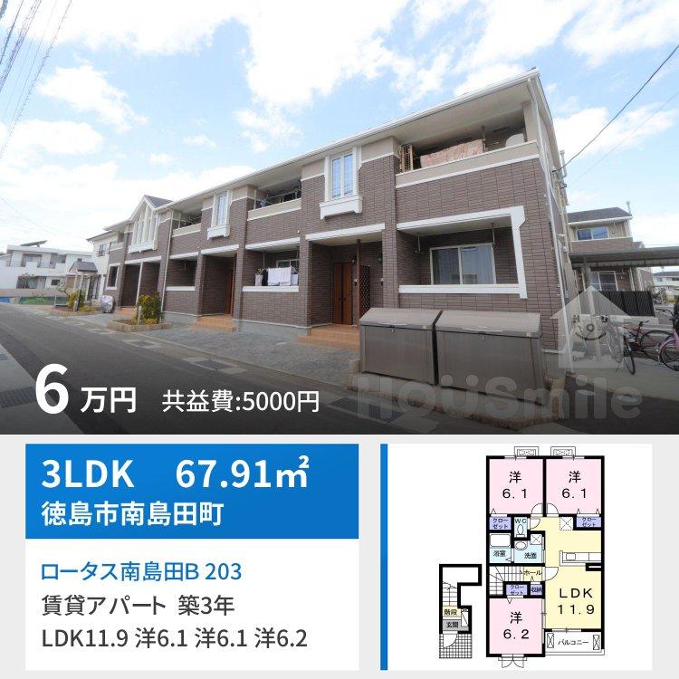 ロータス南島田B 203